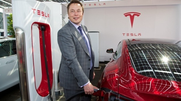 tesla car hire